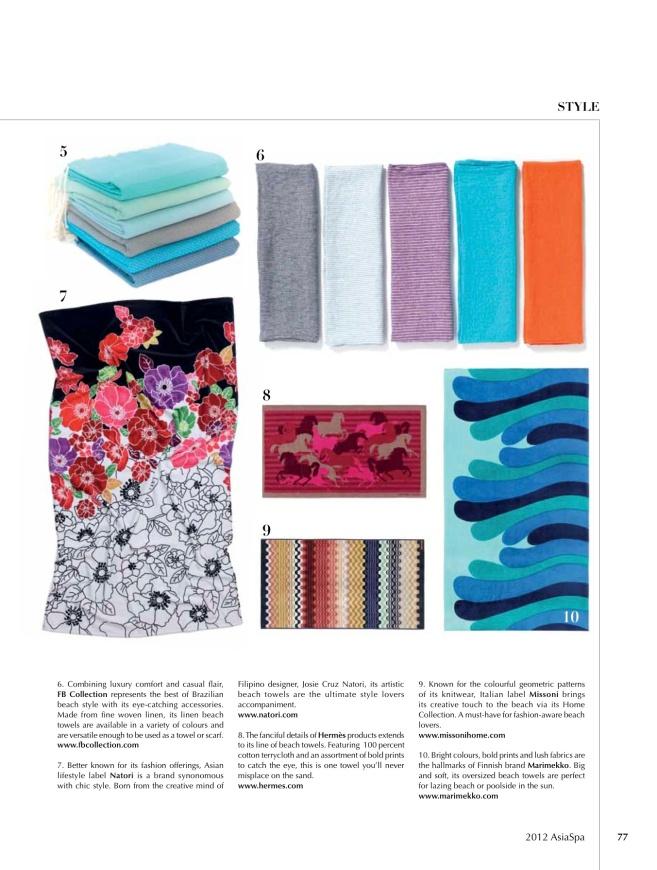 AsiaSpa spa style2 march april
