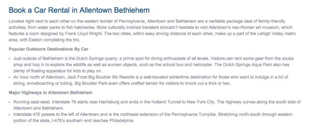 Allentown Bethlehem